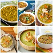 The BEST Split Pea Soup Recipes (Instant Pot or Slow Cooker) collage photo