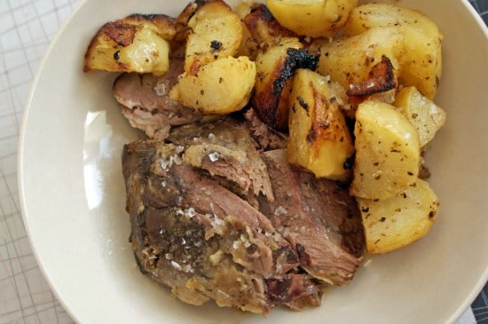The BEST Recipes for Easter Leg of Lamb in the Slow Cooker found on Slow Cooker or Pressure Cooker at SlowCookerFromScratch.com.