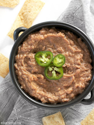 he BEST Slow Cooker or Instant Pot Refried Beans found on Slow Cooker or Pressure Cooker