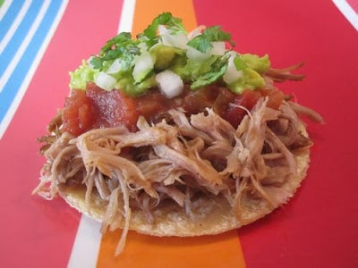 65+ Amazing Beef, Pork, and Chicken Slow Cooker Tacos Recipes from Food Bloggers found on SlowCookerFromScratch.com