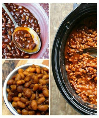 The BEST Slow Cooker Summer Side Dishes and Slow Cooker Baked Beans featured on SlowCookerFromScratch.com