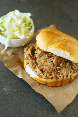 The BEST Slow Cooker Sandwiches with Chicken, Pork, or Beef for a Slow Cooker Summer Dinner featured on SlowCookerFromScratch.com