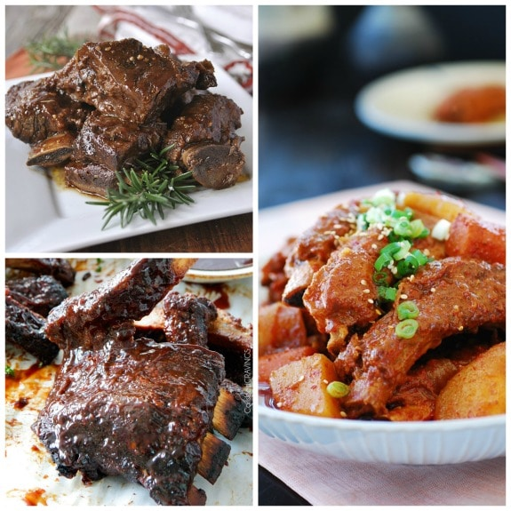 The BEST Slow Cooker Ribs for an Easy Finger-Licking Dinner [featured on SlowCookerFromScratch.com]