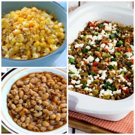 The BEST Slow Cooker Summer Side Dishes featured on Slow Cooker or Pressure Cooker at SlowCookerFromScratch.com