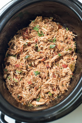 20 Amazing Recipes for Slow Cooker or Instant Pot Mexican Shredded Beef, Chicken, or Pork  featured on SlowCookerFromScratch.com