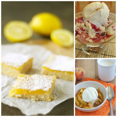 The BEST Slow Cooker Summer Desserts with Fruit featured on Slow Cooker or Pressure Cooker at SlowCookerFromScratch.com