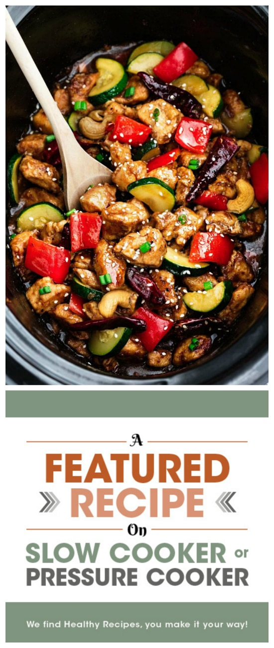 Healthier Kung Pao Chicken from Life Made Sweeter