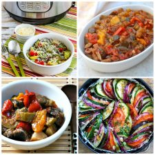 Slow Cooker or Instant Pot Ratatouille Recipes