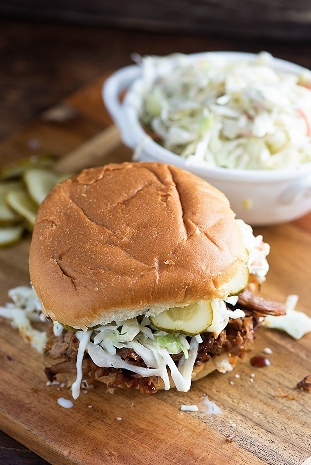 The Top Ten Unique and Amazing Slow Cooker Pulled Pork Sandwich Recipes found on SlowCookerFromScratch.com