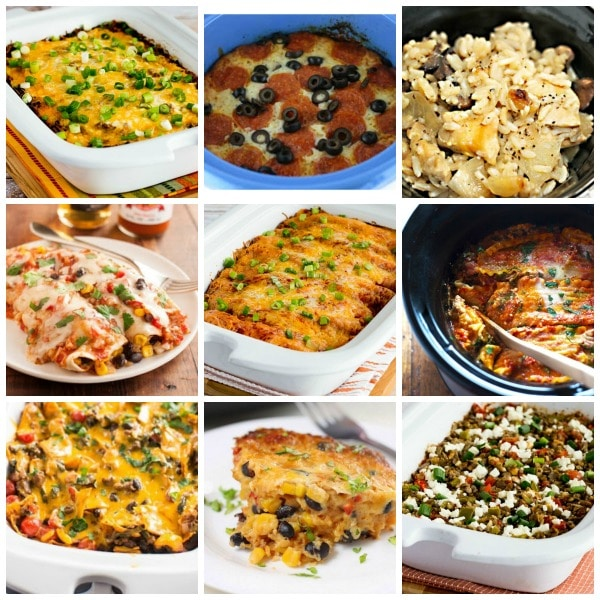25+ Slow Cooker Casserole Recipes featured on Slow Cooker or Pressure Cooker