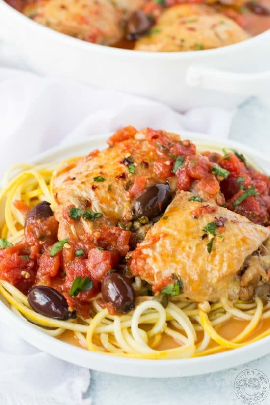 The Top 20 Instant Pot Chicken Dinners featured on Slow Cooker or Pressure Cooker at SlowCookerFromScratch.com