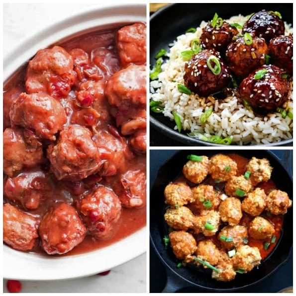 The Best Instant Pot Recipes for Meatballs featured on Slow Cooker or Pressure Cooker at SlowCookerFromScratch.com