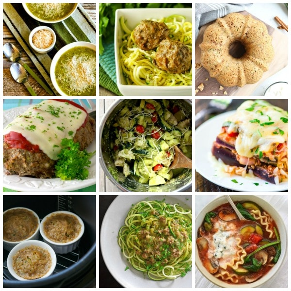 30+ Amazing Slow Cooker or Instant Pot Zucchini Recipes collage photo