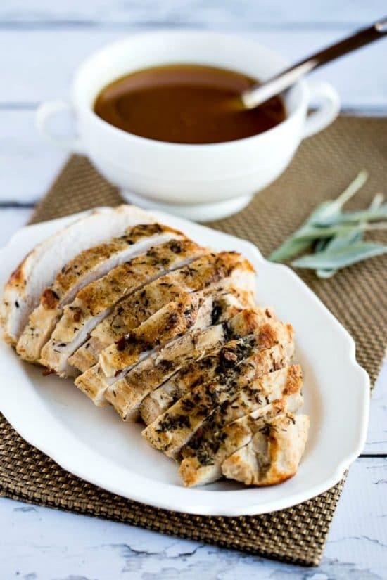 CrockPot Turkey Breast from Kalyn's Kitchen