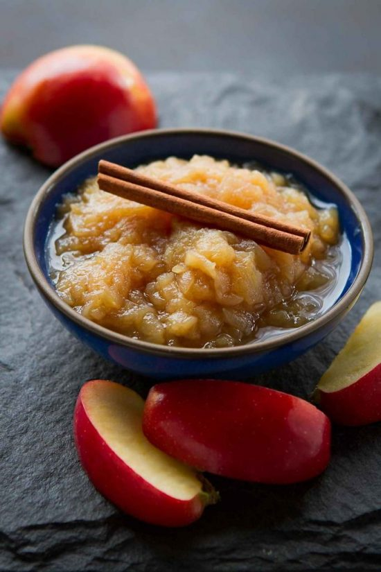 Instant Pot Applesauce from Cookin' Canuck