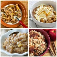 Slow Cooker Apple Recipes top photo collage