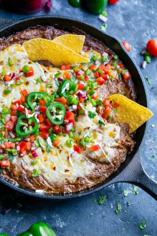 The Best Instant Pot Party Dips featured on Slow Cooker or Pressure Cooker at SlowCookerFromScratch.com