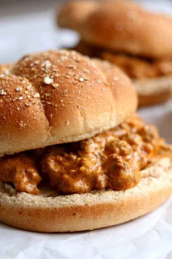 Slow Cooker Creamy Sloppy Joes from 365 Days of Slow + Pressure Cooking