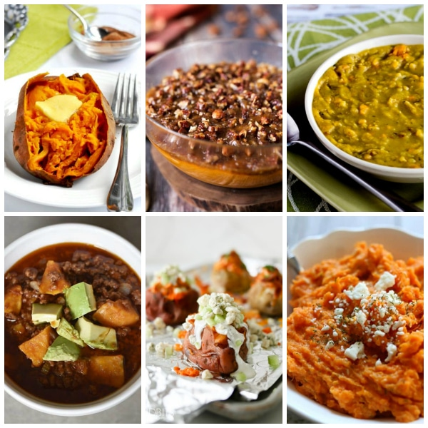 Photo collage for The Best Instant Pot Sweet Potatoes Recipes