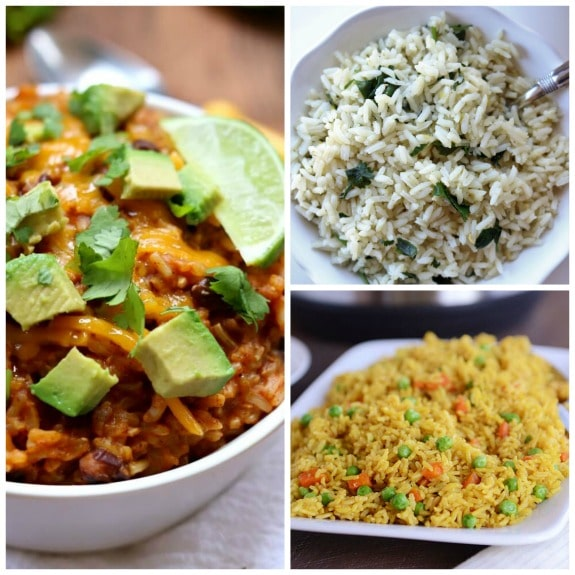 The BEST Instant Pot Rice or Risotto Recipes featured on Slow Cooker or Pressure Cooker at SlowCookerFromScratch.com