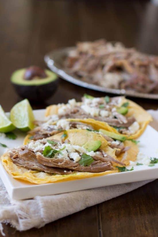 Slow Cooker Carnitas from Sweet Basil