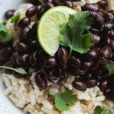 The BEST Instant Pot Recipes with Black Beans featured on Slow Cooker or Pressure Cooker at SlowCookerFromScratch.com