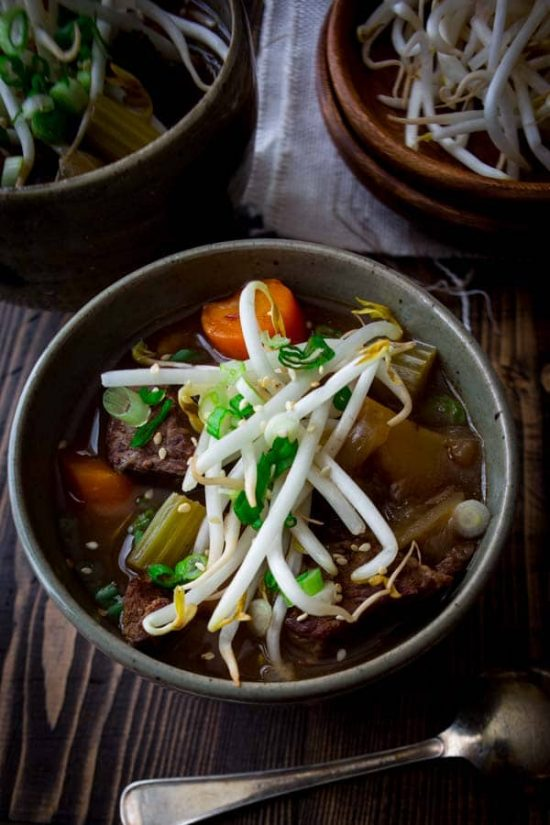 Slow Cooker Chinese 5-Spice Beef Stew from Healthy Seasonal Recipes