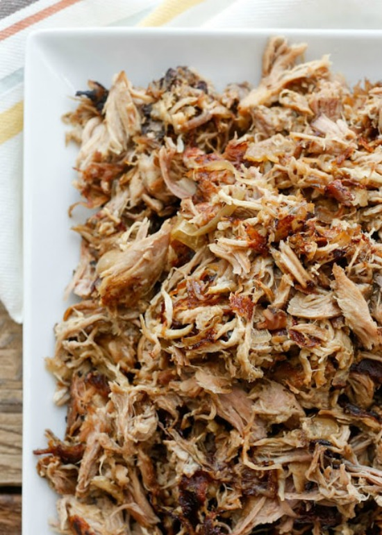 Slow Cooker Pork Carnitas from Barefeet in the Kitchen