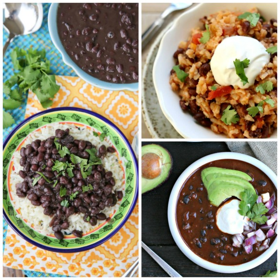 The BEST Instant Pot Recipes with Black Beans found on Slow Cooker or Pressure Cooker at SlowCookerFromScratch.com
