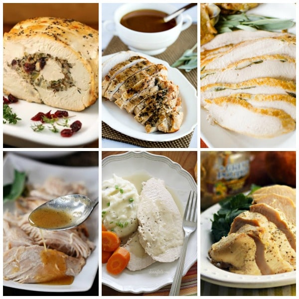 Top 10 Recipes for Slow Cooker Turkey Breast (plus Honorable Mentions!) top collage