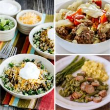 50 Amazing Low-Carb Instant Pot Recipes featured on Slow Cooker or Pressure Cooker at SlowCookerFromScratch.com