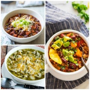 The BEST Instant Pot Chili Recipes found on Slow Cooker or Pressure Cooker at SlowCookerFromScratch.com