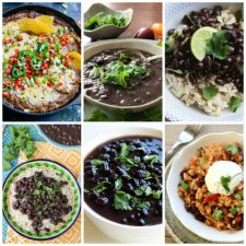 The BEST Instant Pot Black Beans Recipes found on Slow Cooker or Pressure Cooker