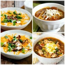 The BEST Instant Pot Soups featured on Slow Cooker or Pressure Cooker at SlowCookerFromScratch.com