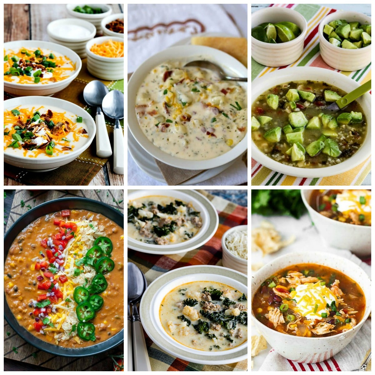 The BEST Instant Pot Soup Recipes collage photo