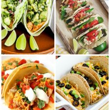 Four Fun Ideas for Chicken Tacos (Slow-Cooker or Instant Pot) found on Slow Cooker or Pressure Cooker