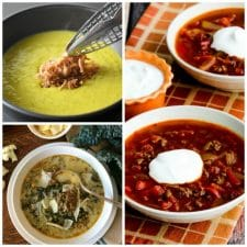 50 AMAZING Low Carb Instant Pot Soup Recipes featured on Slow Cooker or Pressure Cooker at SlowCookerFromScratch.com