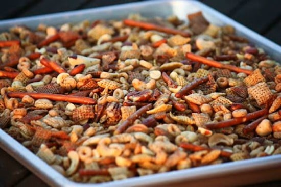 Slow Cooker Chex Mix from Unsophisticook