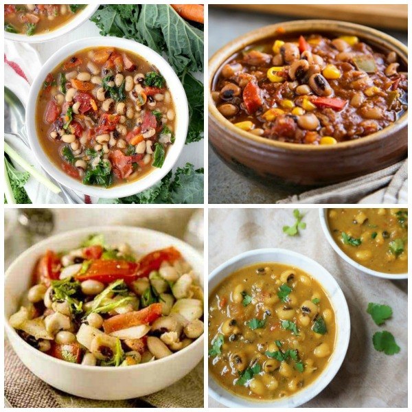 The BEST Slow Cooker or Instant Pot Recipes with Black-Eyed Peas found on Slow Cooker or Pressure Cooker at SlowCookerfromScratch.com