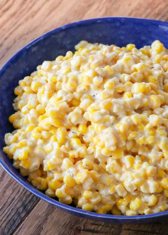 Rudy's Slow Cooker Creamed Corn from Barefeet in the kitchen