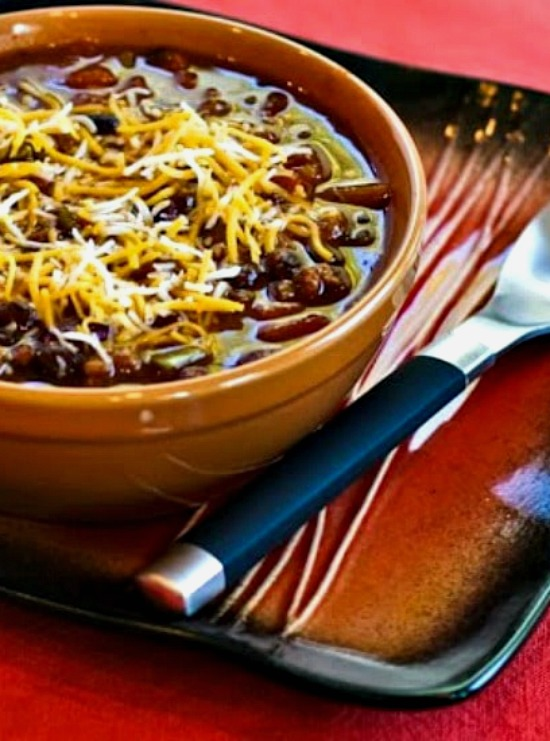 CrockPot Pumpkin Chili from Kalyn's Kitchen