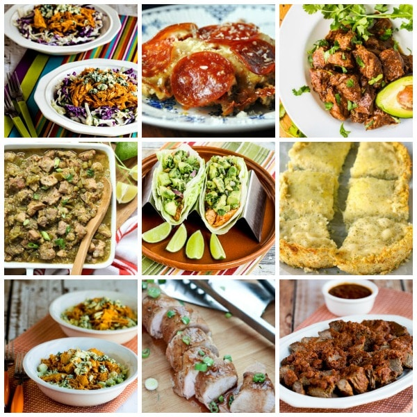 Collage photo for 50 Great Low-Carb Slow Cooker Recipes
