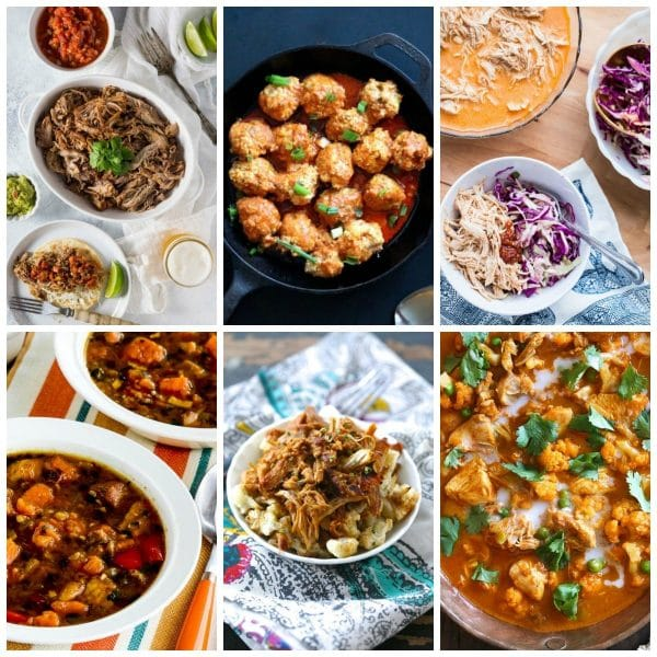 The BEST Paleo Instant Pot Recipes collage photo