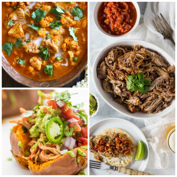 The BEST Paleo Instant Pot Recipes featured on Slow Cooker or Pressure Cooker at SlowCookerFromScratch.com