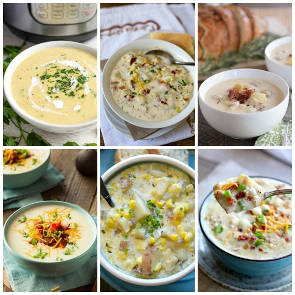 The BEST Instant Pot Potato Soup Recipes