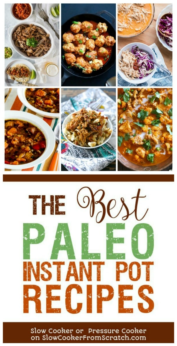The BEST Paleo Instant Pot Recipes Pinterest image