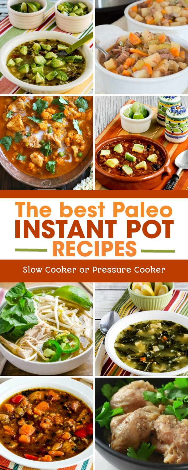 Pinterest image of The BEST Paleo Instant Pot Recipes
