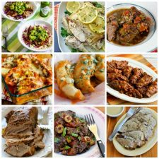 Top 25 Low-Carb Slow Cooker Dinners featured on Slow Cooker or Pressure Cooker at SlowCookerFromScratch.com