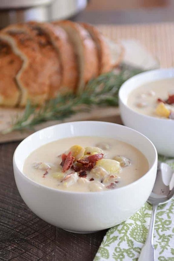 The Best Instant Pot Potato Soup Recipes featured on Slow Cooker or Pressure Cooker at SlowCookerFromScratch.com