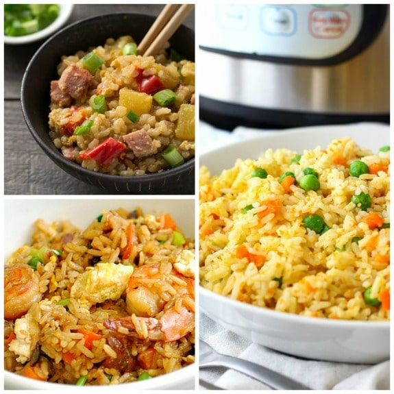 how to cook rice for fried rice in pressure cooker